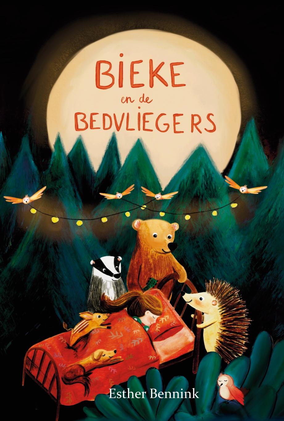 PRE ORDER Bieke en de Bedvliegers – prentenboek – Illustrator under a blankie